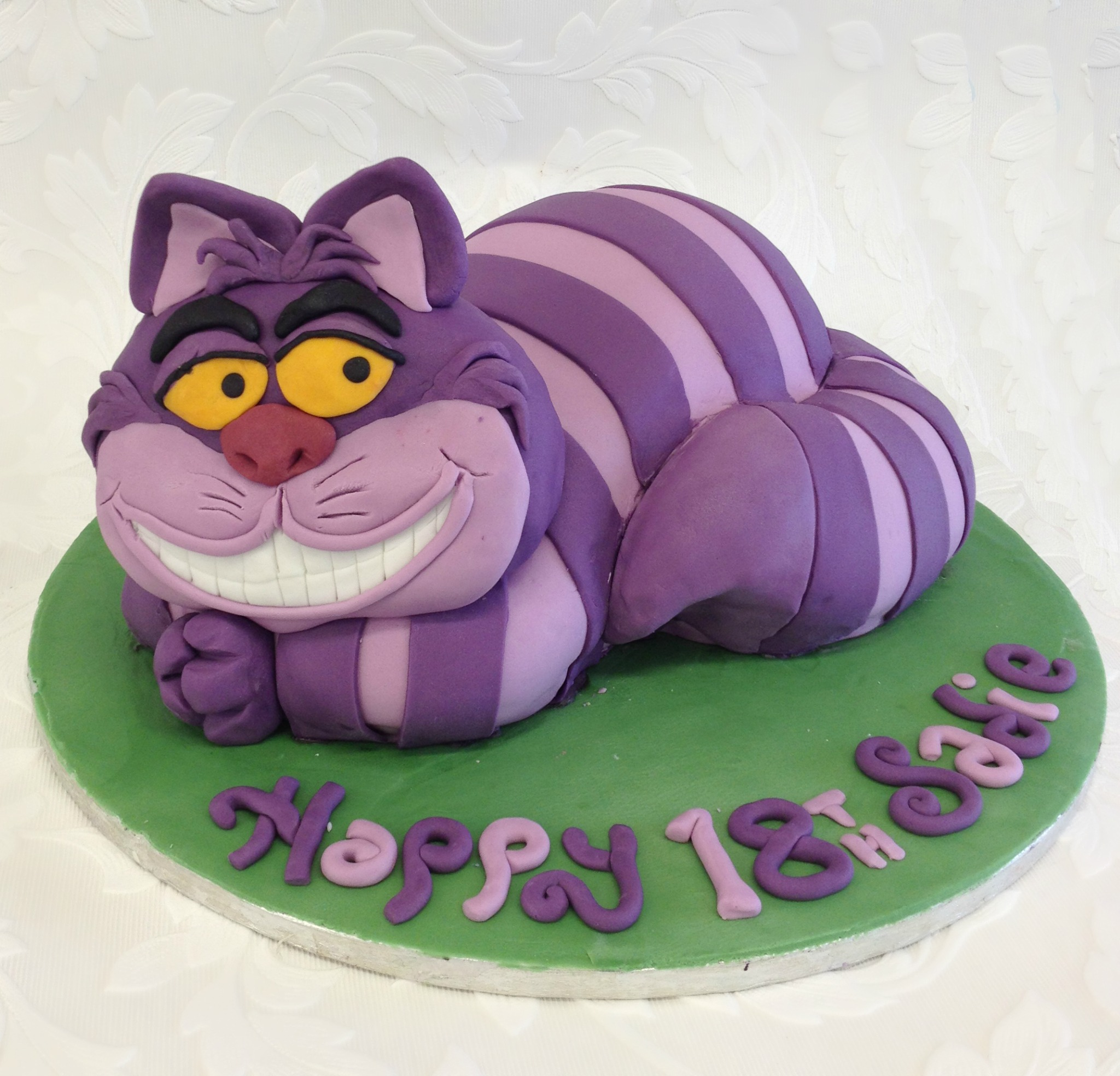 How To Make Cheshire Cat Cake Topper