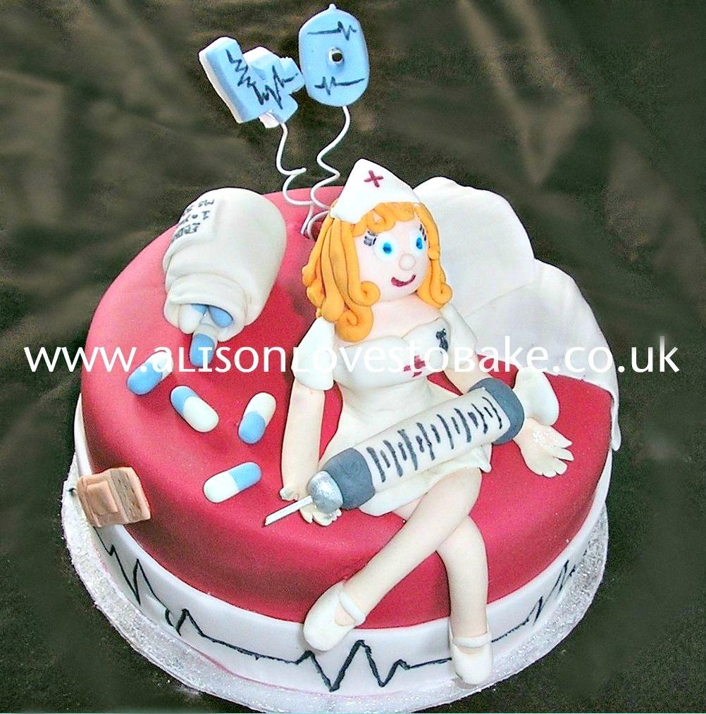 Cake Decorating Nurses Theme : Alison Loves To Bake
